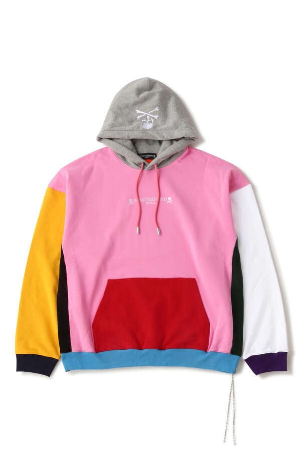 BOXY MULTI COLORED HOODIE