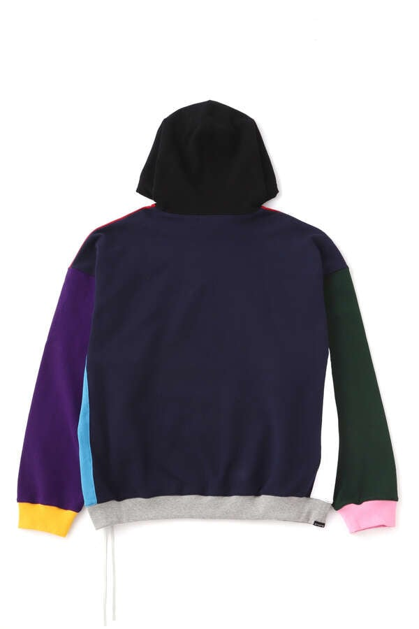 BOXY MULTI COLORED HOODIEBOXY MULTI COLORED HOODIE