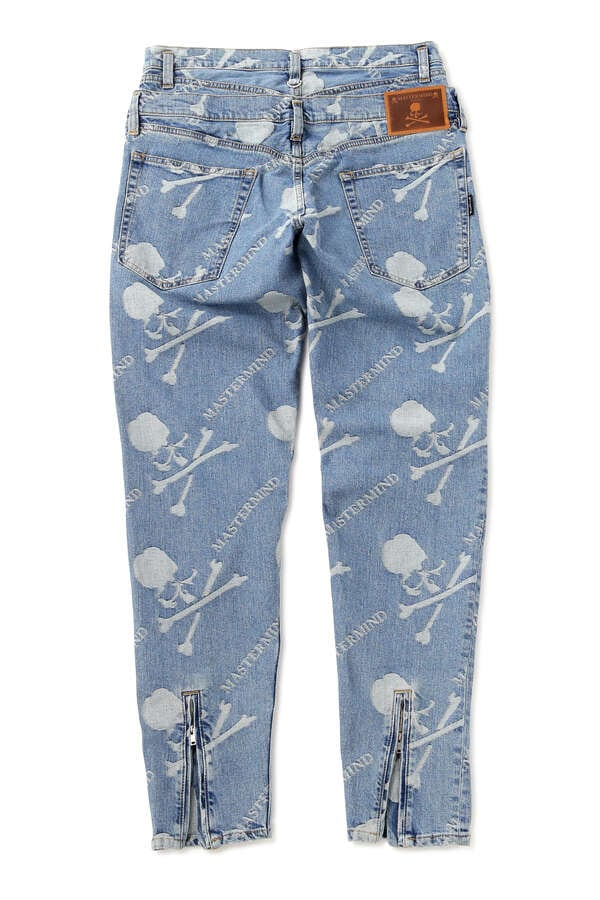 SLIM MONOGRAM DENIM PANTSSLIM MONOGRAM DENIM PANTS