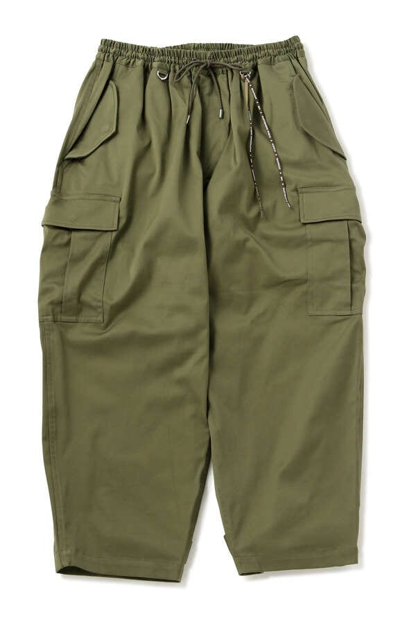 MASTERSEED CARGO CROPPED PANTS