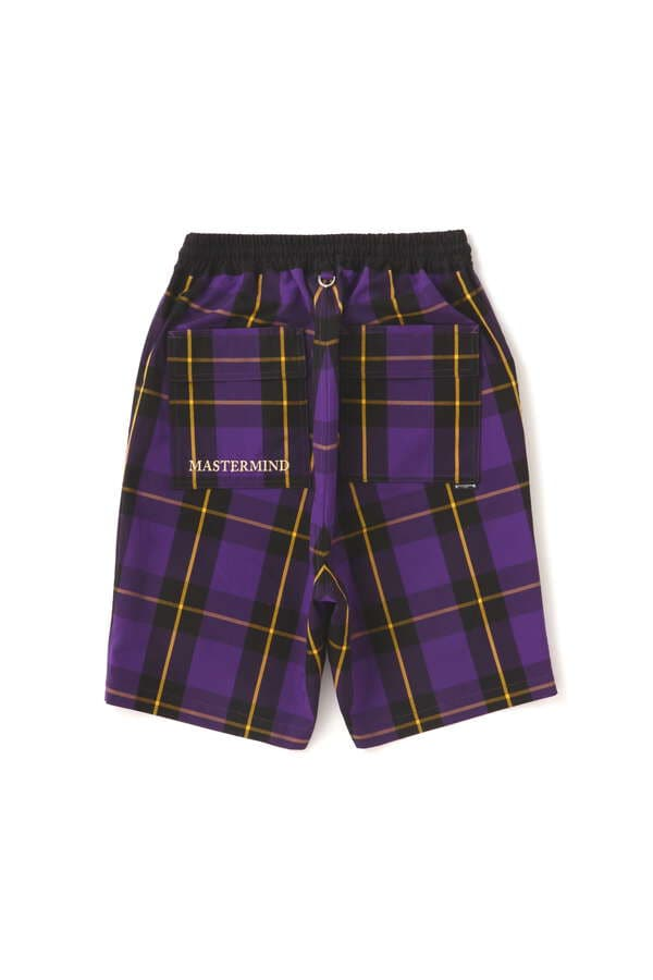 BLOCK PLAID SHORTSBLOCK PLAID SHORTS