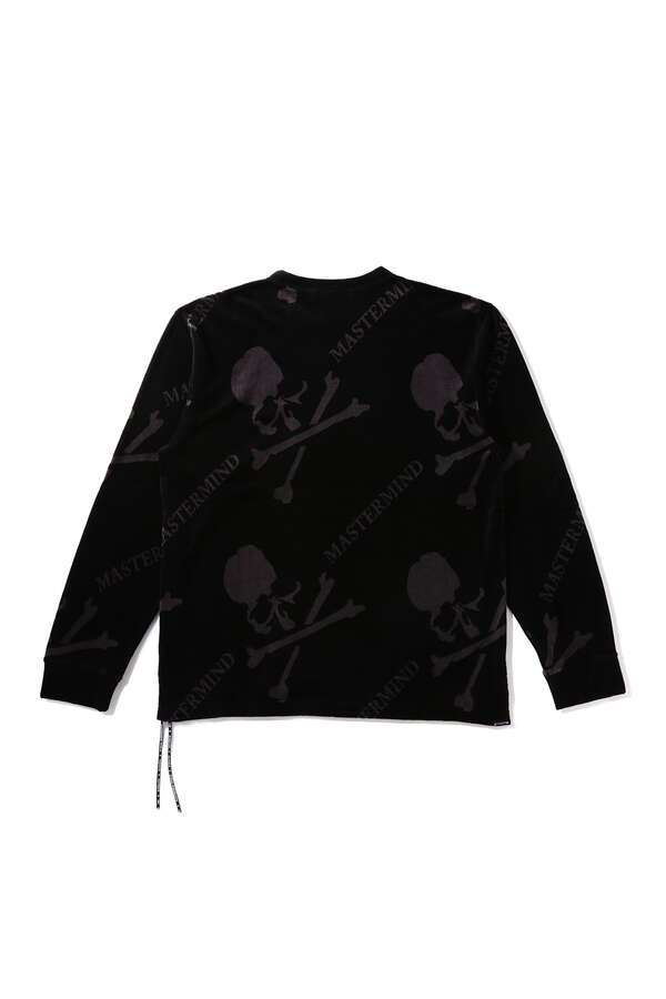 VELOUR ALL-OVER TEEVELOUR ALL-OVER TEE