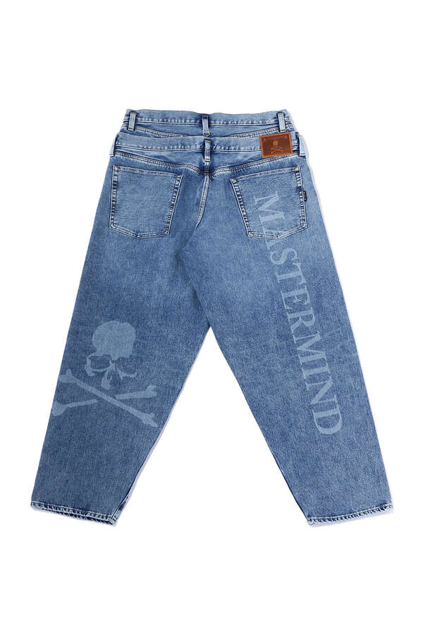 BAGGY 2 WAY STRETCHED DENIM PANTSBAGGY 2 WAY STRETCHED DENIM PANTS