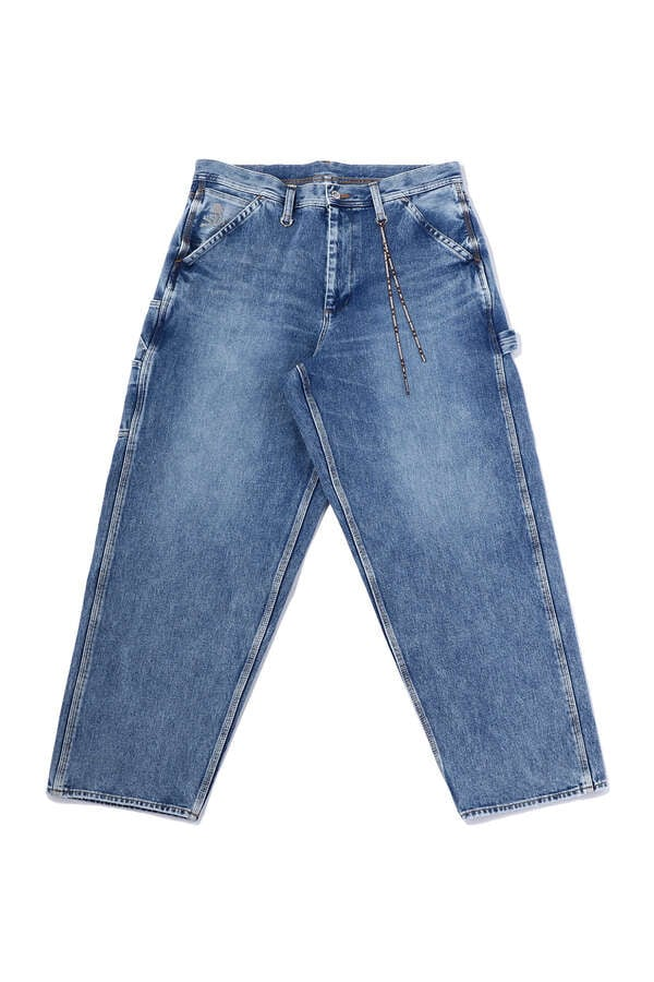 BAGGY 2 WAY STRETCHED WORK DENIM PANTS