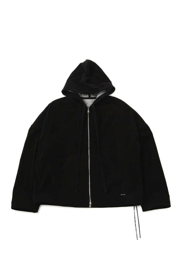 ORGANIC COTTON ZIP UP HOODIE