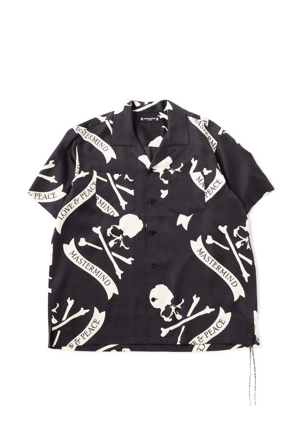 TROPICAL SKULL SILK SS SHIRTS