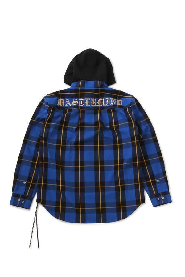 BLOCK PLAID HOODED SHIRTSBLOCK PLAID HOODED SHIRTS