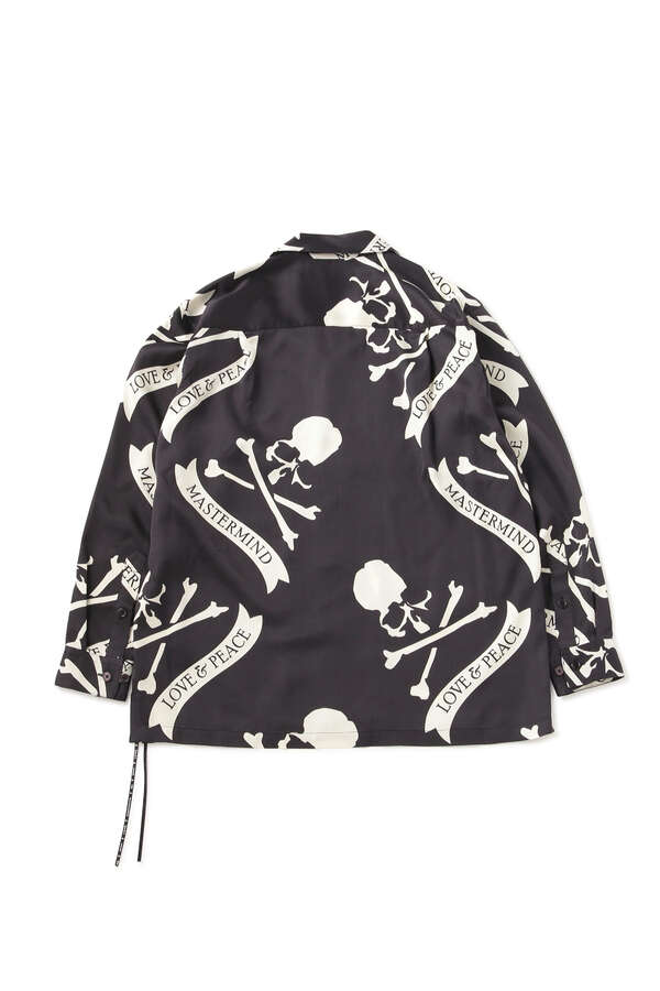 TROPICAL SKULL SILK LS SHIRTSTROPICAL SKULL SILK LS SHIRTS