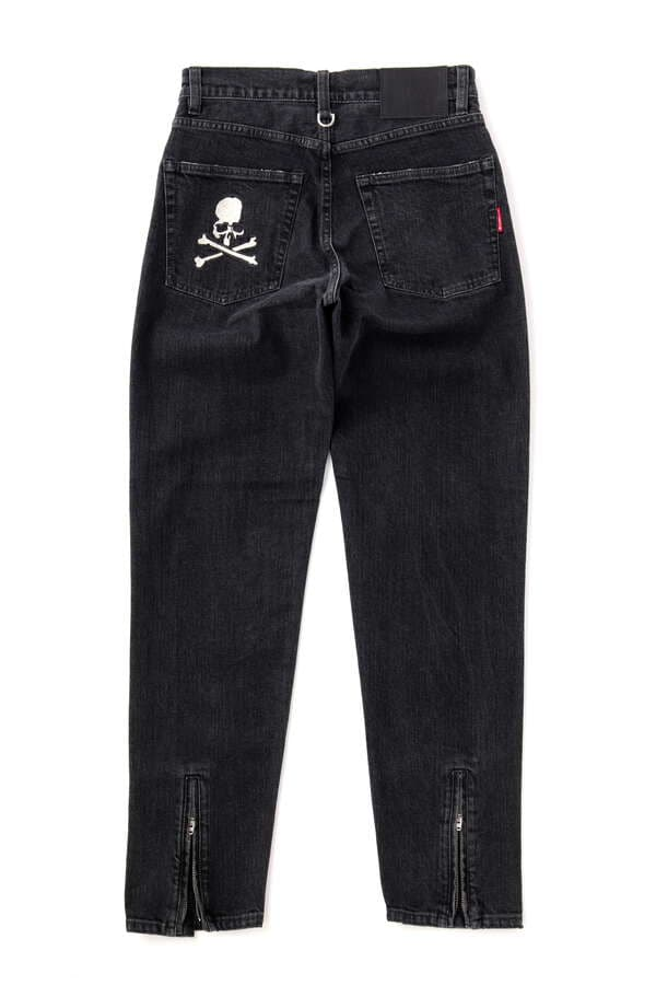 TAPERED SLIM WATER REPELLENT DENIM PANTSTAPERED SLIM WATER REPELLENT DENIM PANTS