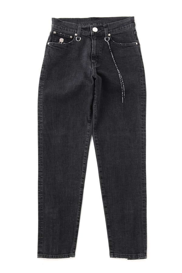 TAPERED SLIM WATER REPELLENT DENIM PANTS