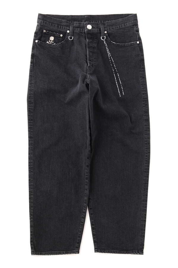 BAGGY WATER REPELLENT DENIM PANTS