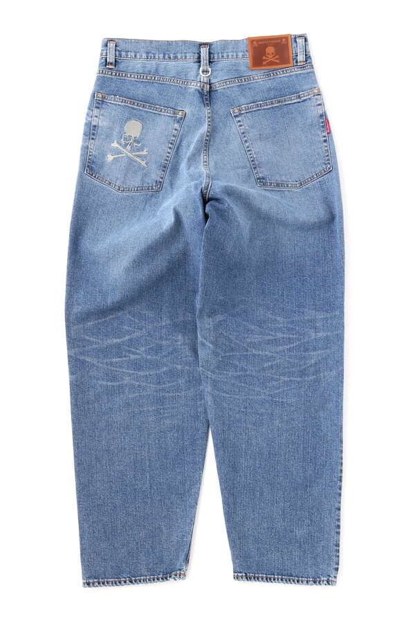 BAGGY WATER REPELLENT DENIM PANTSBAGGY WATER REPELLENT DENIM PANTS