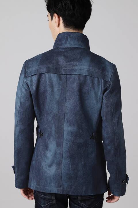 【ドラマ着用】TORNADO MART∴T/Cスェード返し衿ジャケット