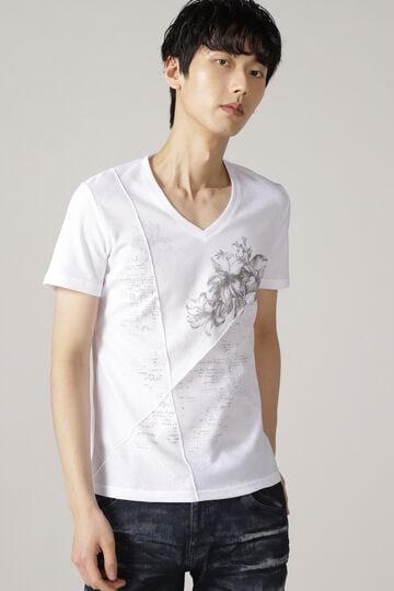 TORNADO MART∴リンクスリリィ&タイポプリントTシャツ
