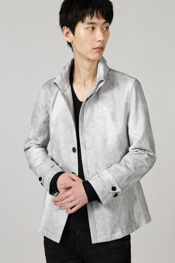 TORNADO MART∴T/Cスェード返し衿ジャケット