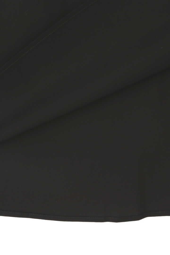 STUDIO NICHOLSON / STRETCH COTTON DRAPE DETAIL SKIRT6