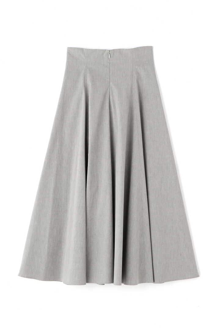ATON / STRETCH BROAD FLARED SKIRT2