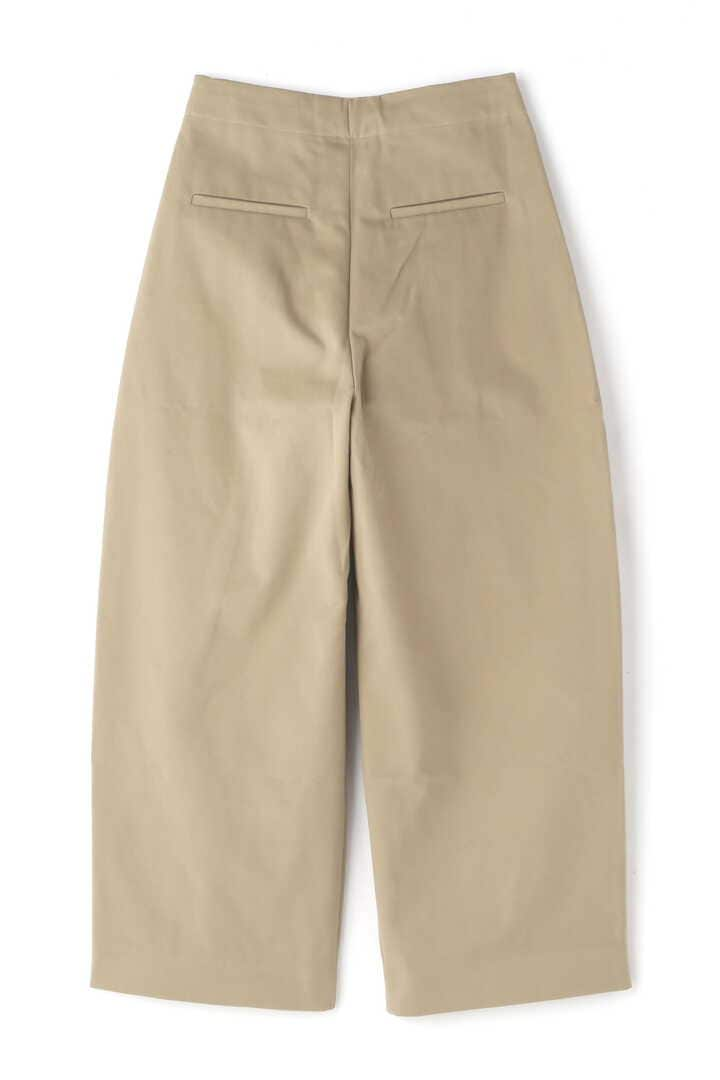 STUDIO NICHOLSON / PEACHED COTTON TWILL VOLUME PLEAT PANTS2
