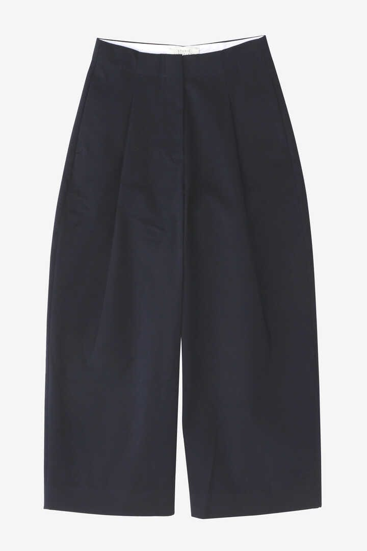 STUDIO NICHOLSON / PEACHED COTTON TWILL VOLUME PLEAT PANTS11
