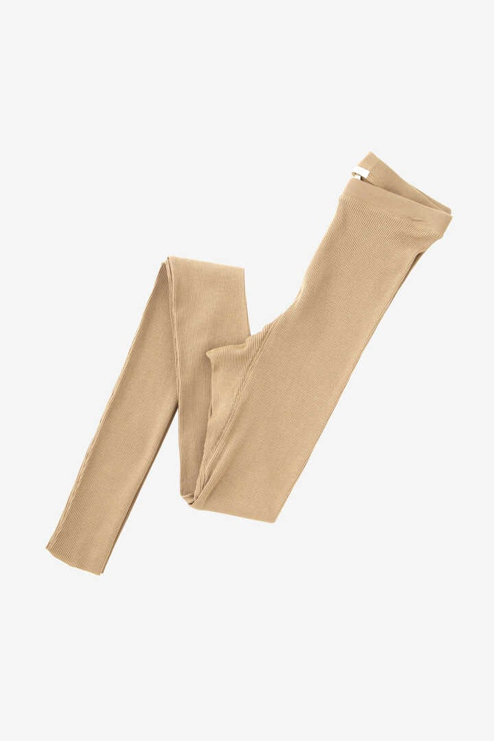 BLURHMS / COTTON HIGH STRETCH RIB LEGGINGS7