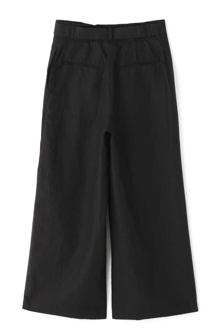 ATON / LINEN WEATHER BELTED PANTS2