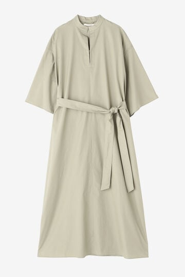 BLURHMS / COTTON BROAD PULLOVER DRESS_040
