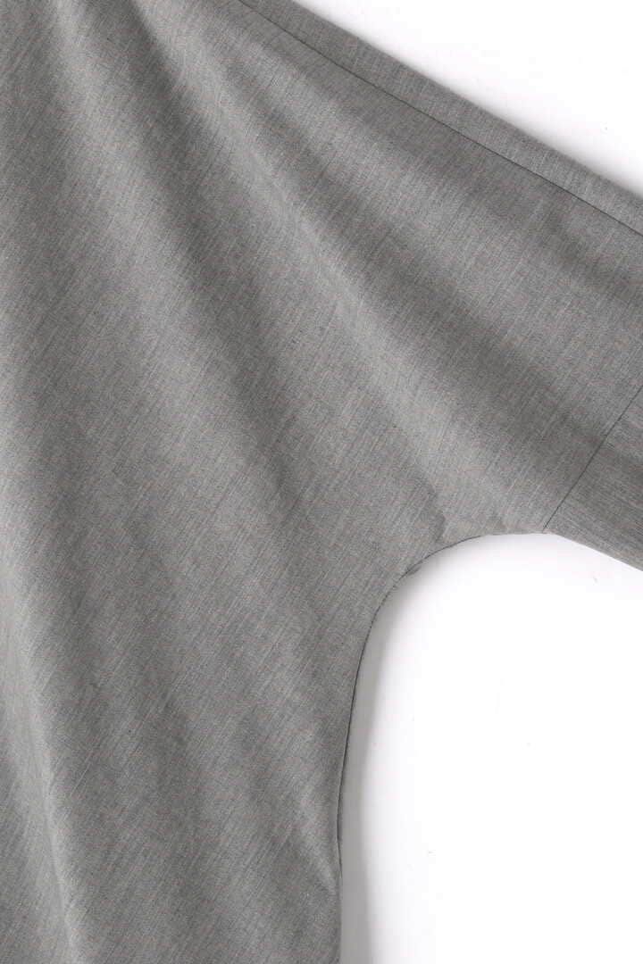 ATON / STRETCH BROAD DRAPED DRESS4