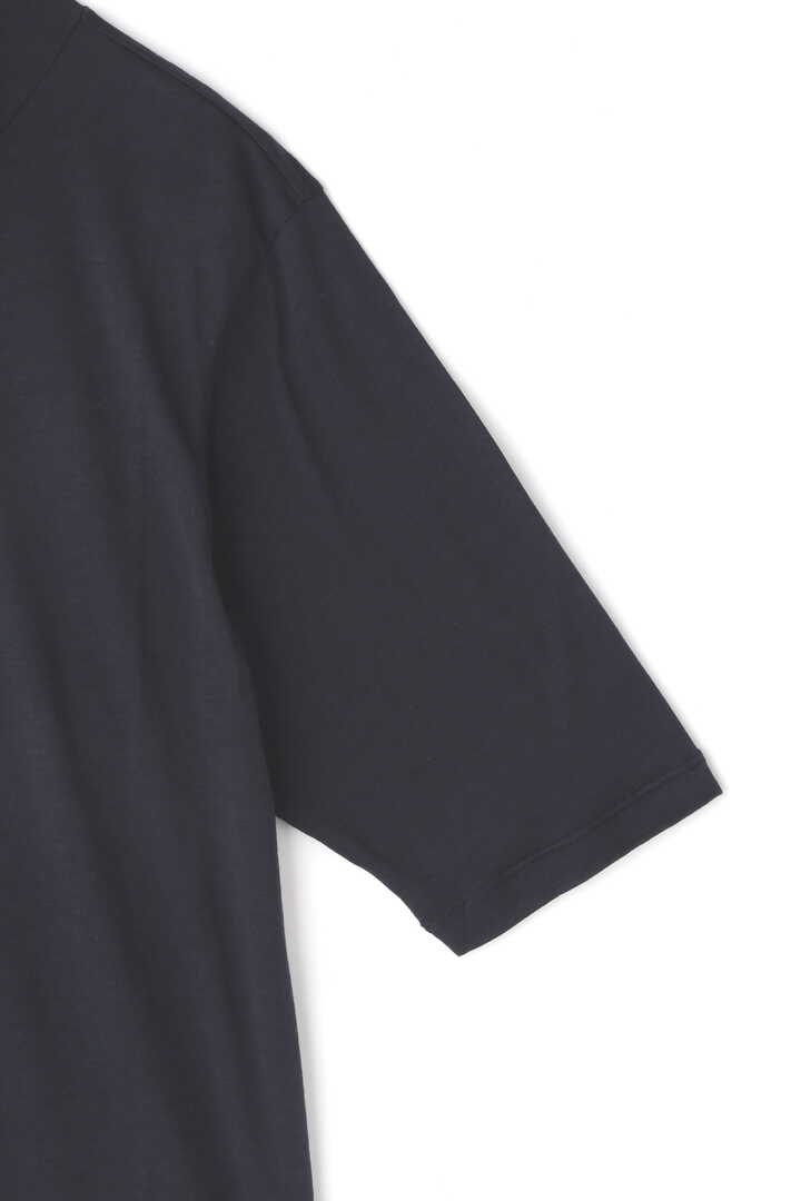 STUDIO NICHOLSON / SILK COTTON JERSEY 3/4 SLEEVE ROLL NECK TOP4