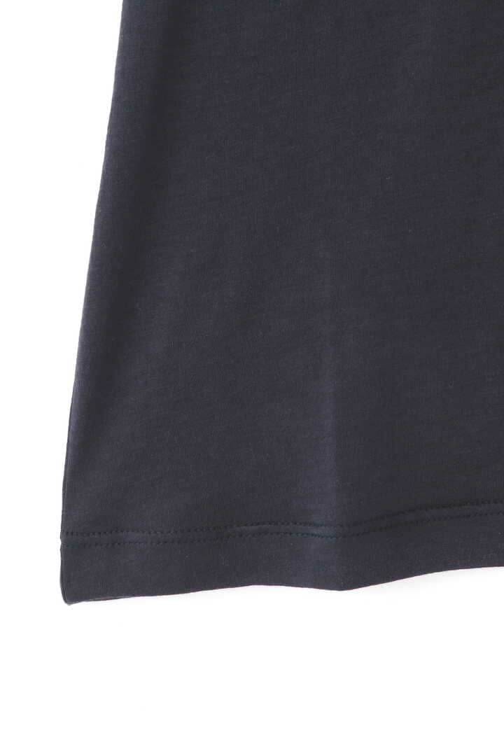 STUDIO NICHOLSON / SILK COTTON JERSEY 3/4 SLEEVE ROLL NECK TOP5
