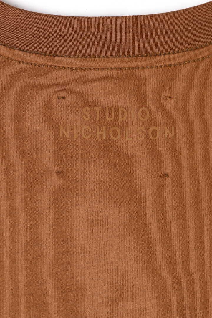 STUDIO NICHOLSON / LW COMPACT COTTON PERFECT TEE10