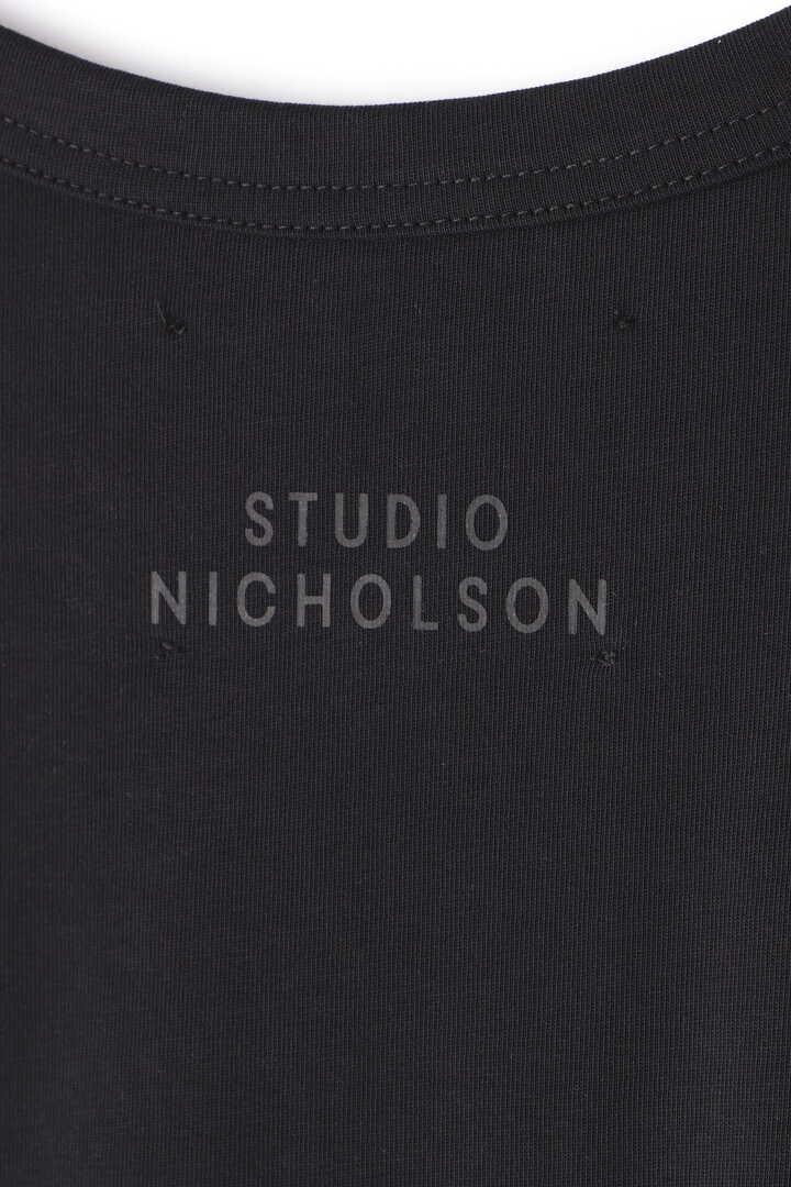 STUDIO NICHOLSON / MERCERIZED COTTON WOMENS SHORT SLEEVE T-SHIRT6