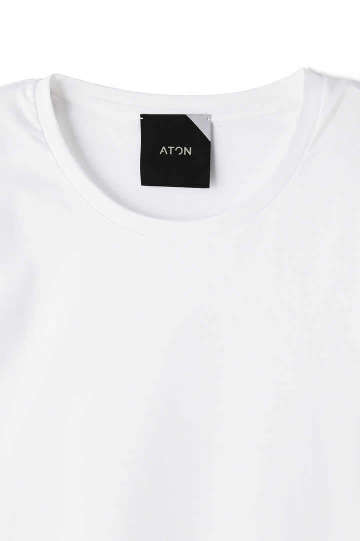 ATON / SUVIN 60/2 ROUNDED HEM T-SHIRT3
