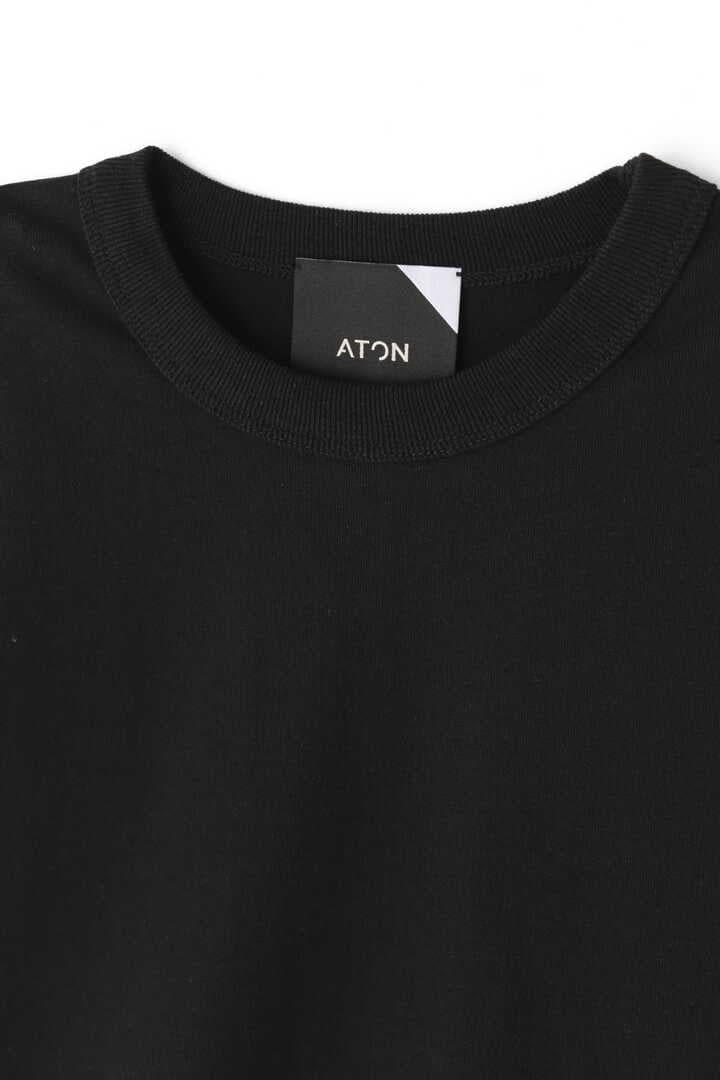 ATON / 18/- SUVIN AIR SPINNING ROUND HEM TANK TOP3