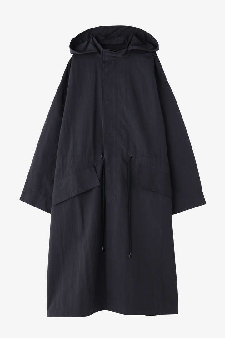 STUDIO NICHOLSON / WATER REPELLENT POLY WOMENS HOODED PARKA1