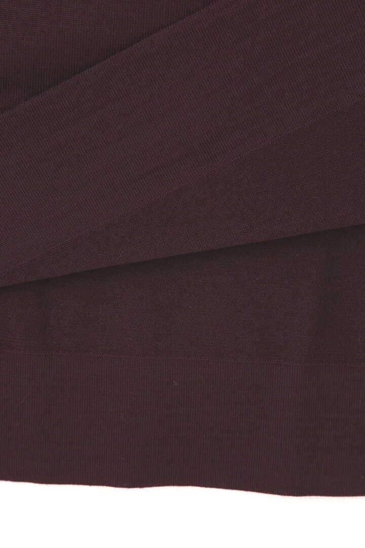 ATON / NATURAL DYE SLOW WOOL CREW NECK LONG DRESS7