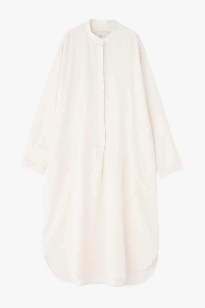 STUDIO NICHOLSON / DRY DRAPE TWILL SHIRT DRESS13
