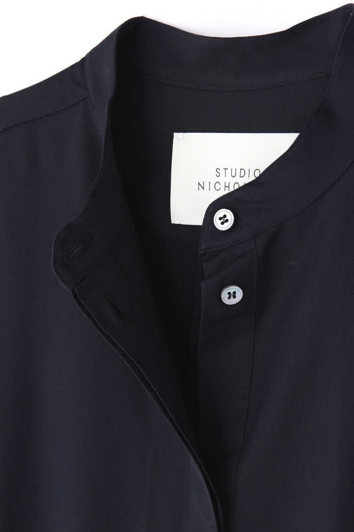 STUDIO NICHOLSON / DRY DRAPE TWILL SHIRT DRESS4