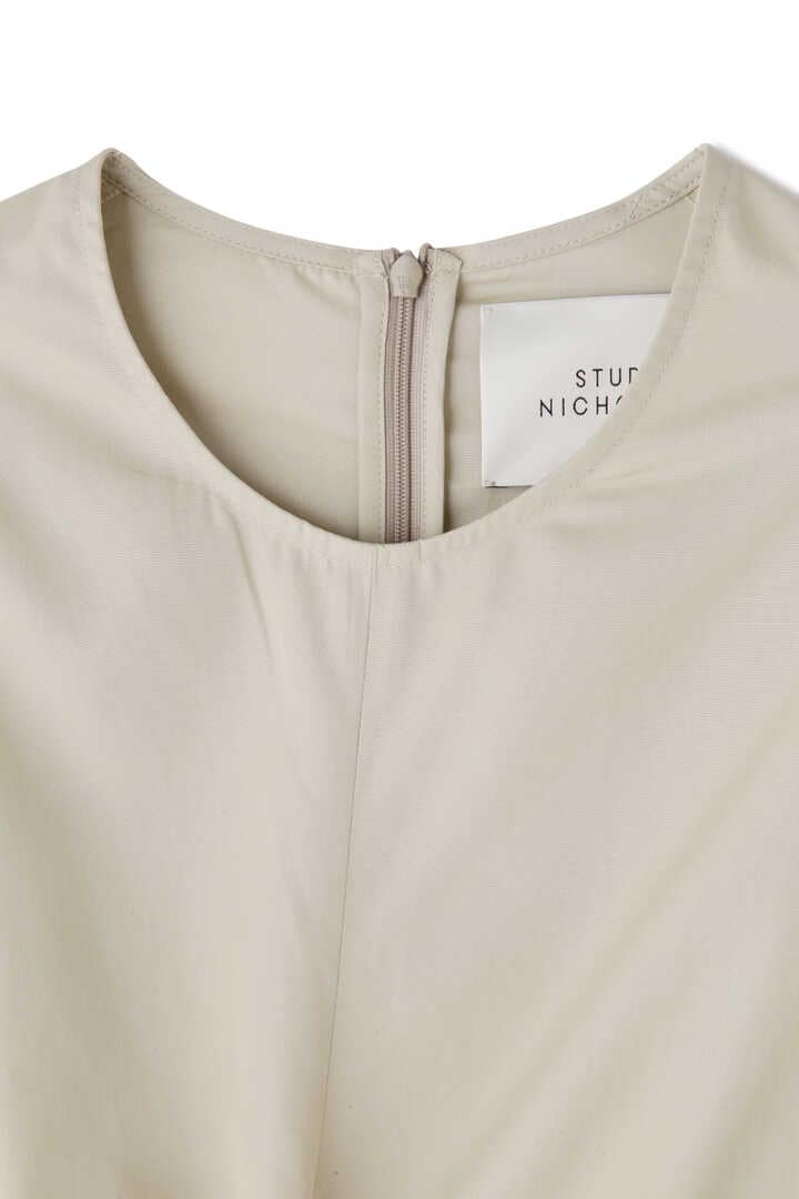 STUDIO NICHOLSON / LIGHTWEIGHT COTTON WRAP DRESS3