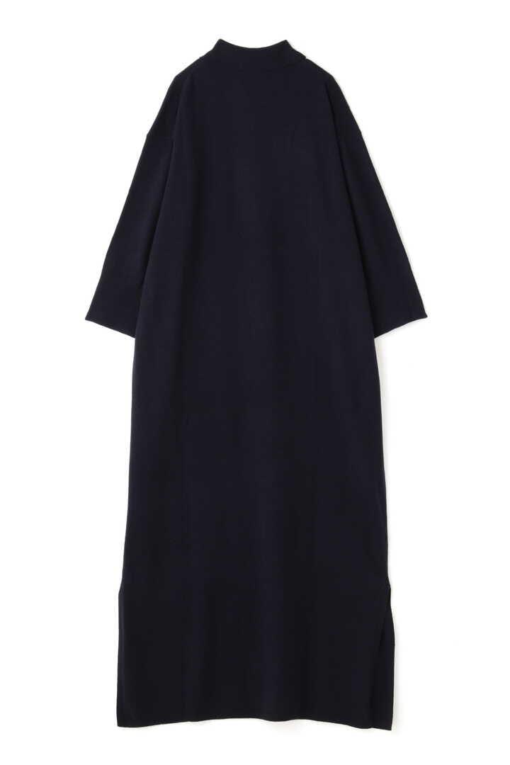 STUDIO NICHOLSON / WOOL CASHMERE SPLIT COLLAR DRESS4