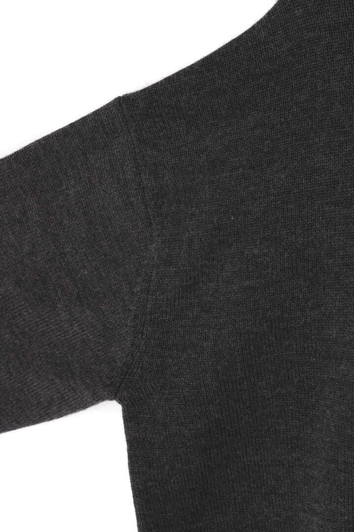 BLURHMS / MERINO WOOL KNIT TURRLE-NECK P/O4