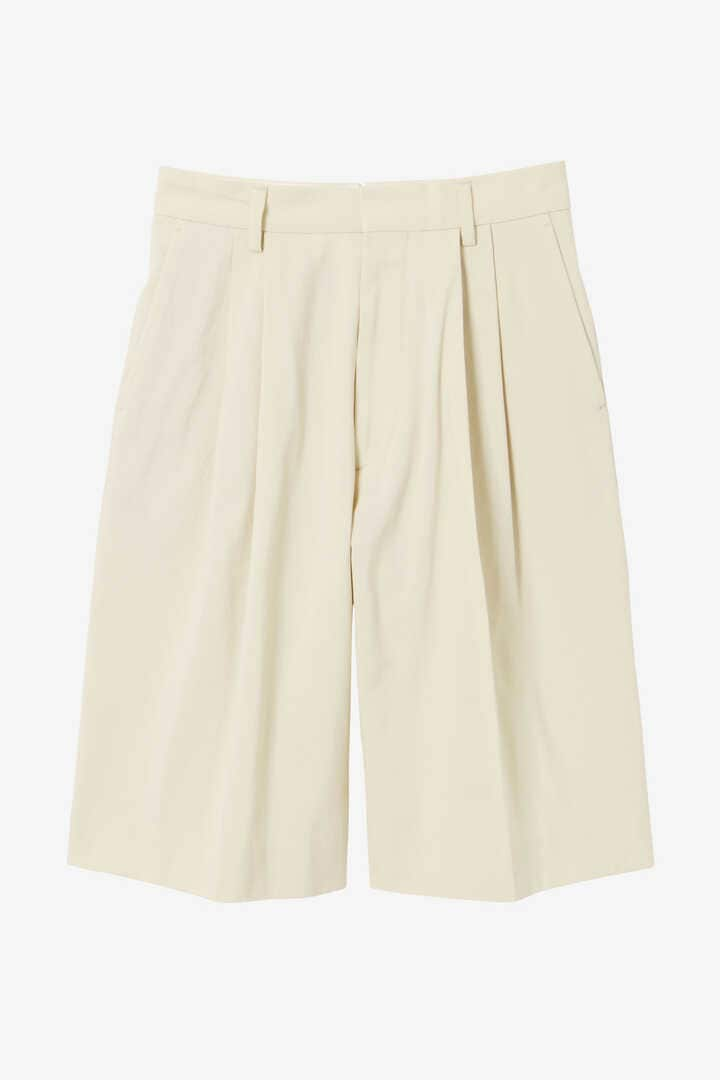 YLÈVE / HIGH COUNT COTTON KERSEY SHORTS7
