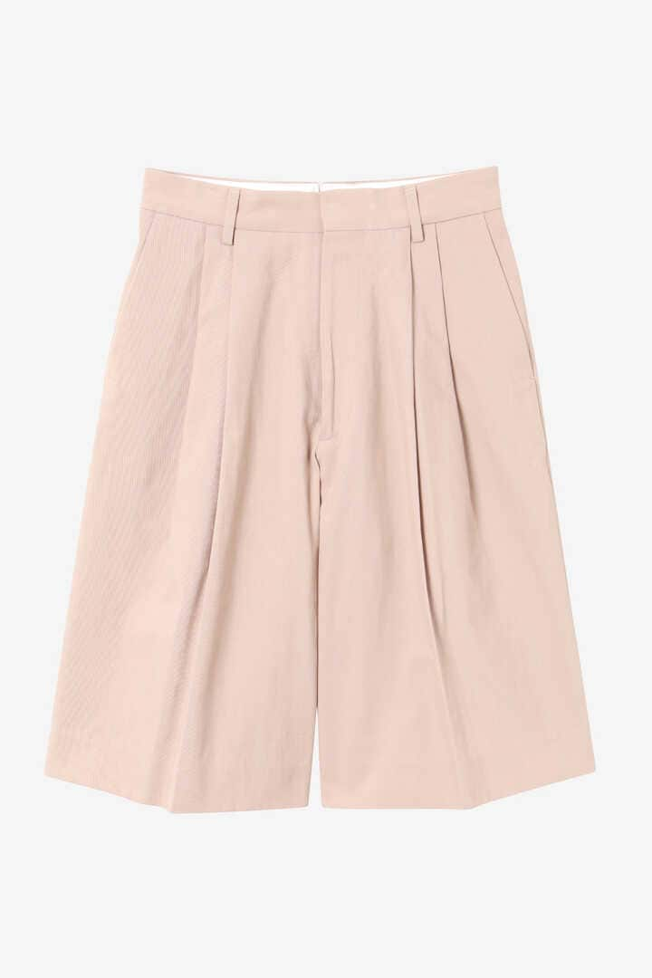YLÈVE / HIGH COUNT COTTON KERSEY SHORTS1
