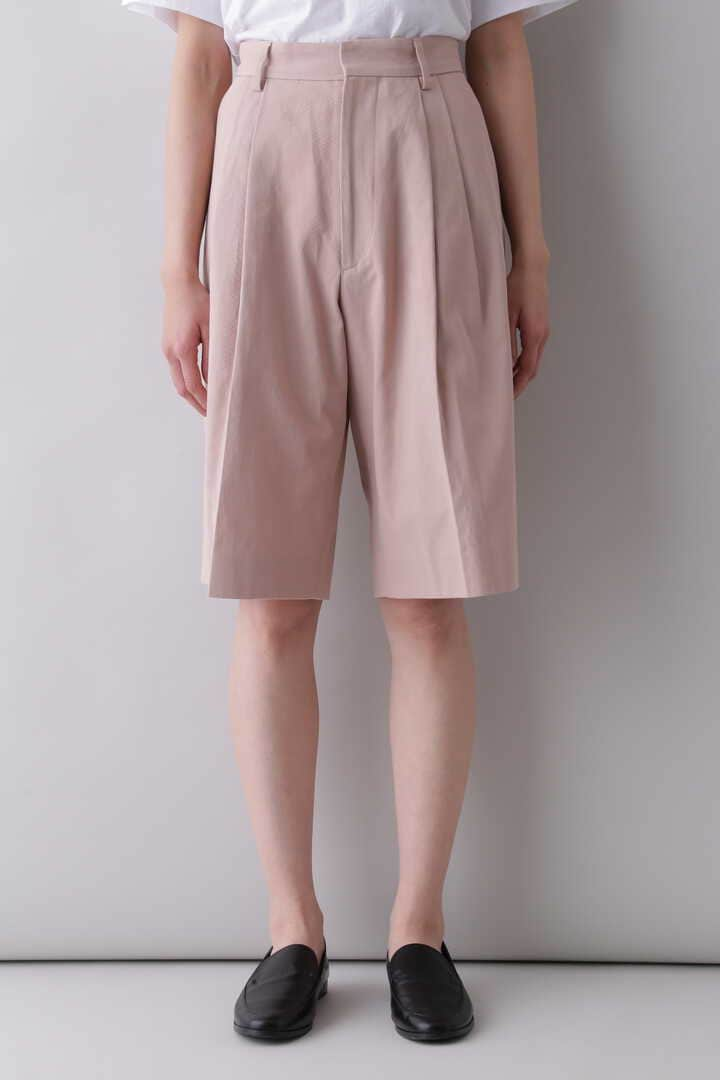 YLÈVE / HIGH COUNT COTTON KERSEY SHORTS2