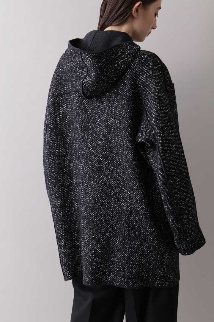 YLÈVE / TWEED×WOOL DOUBLE CLOTH REVERSIBLE CO5
