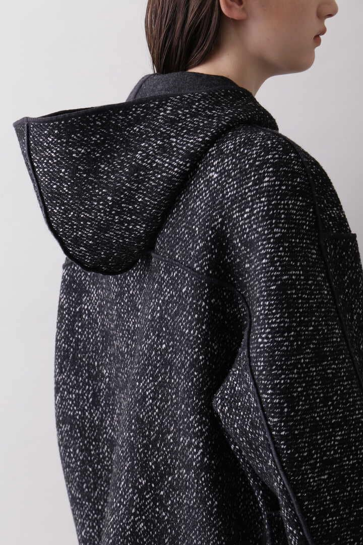 YLÈVE / TWEED×WOOL DOUBLE CLOTH REVERSIBLE CO10