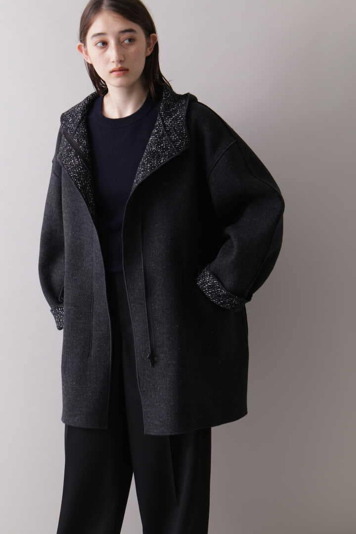 YLÈVE / TWEED×WOOL DOUBLE CLOTH REVERSIBLE CO12