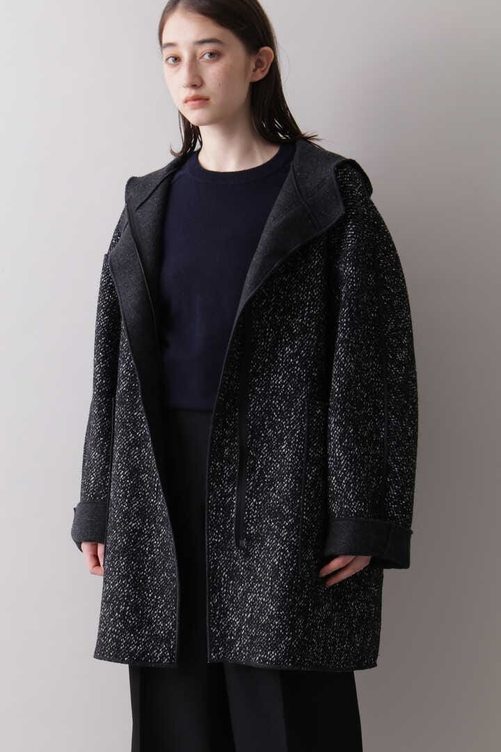 YLÈVE / TWEED×WOOL DOUBLE CLOTH REVERSIBLE CO2