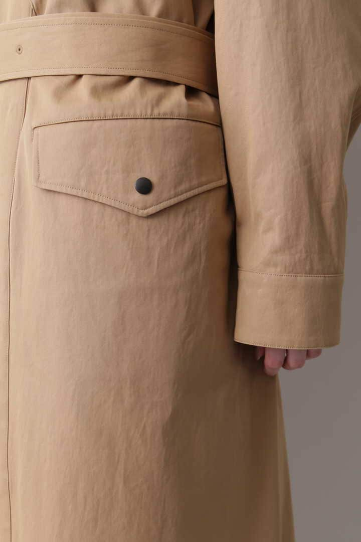 YLÈVE / HIGH COUNT COTTON GABARDINE WITH QUILT LINING CO10