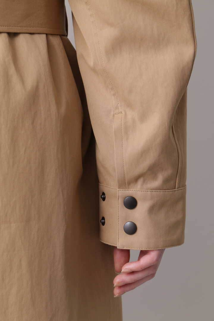 YLÈVE / HIGH COUNT COTTON GABARDINE WITH QUILT LINING CO11