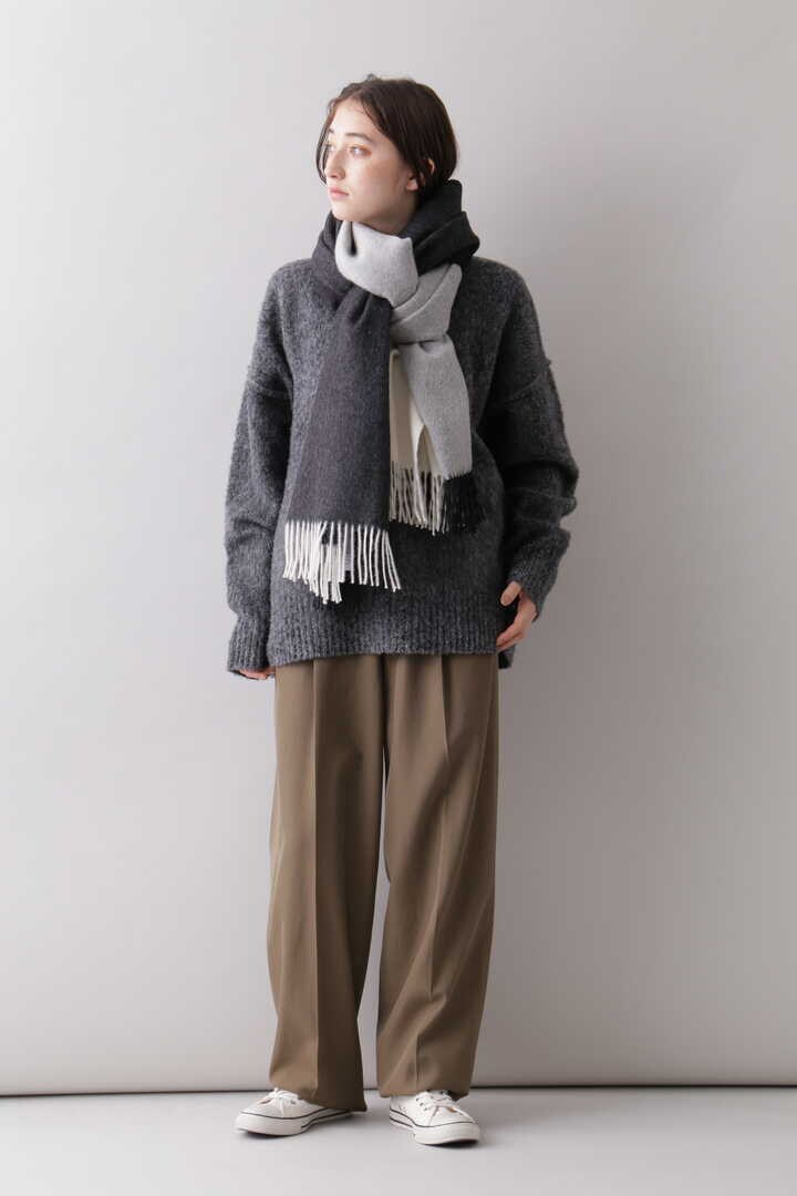 YLÈVE / THE INOUE BROTHERS DOUBLE FACE BRUSHED STOLE8